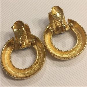 Givenchy Jewelry   Vintage Givenchy Door Knocker Earrings